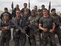 Sylvester Stallone rounds a group of young Expendables to take down villains.