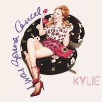 Kylie Minogue 'I Was Gonna Cancel' single artwork.