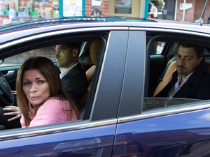 Carla is taken to hospital in pain