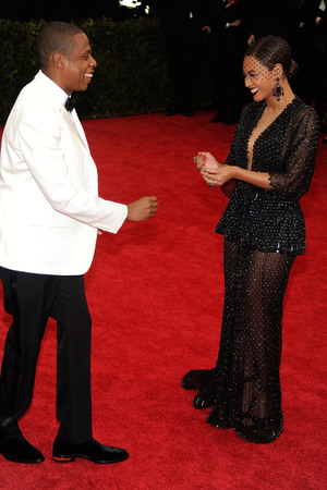 NEW YORK, NY - MAY 05: Jay-Z and Beyonce attend the 'Charles James: Beyond Fashion' Costume Institute Gala at the Metropolitan Museum of Art on May 5, 2014 in New York City. (Photo by Rabbani and Solimene Photography/Getty Images)