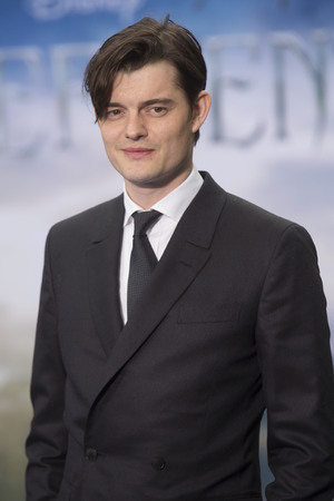 LONDON, UNITED KINGDOM - MAY 08: Sam Riley attends a private reception as costumes and props from Disney's 'Maleficent' are exhibited in support of Great Ormond Street Hospital at Kensington Palace on May 8, 2014 in London, England. (Photo by Julian Parker/UK Press via Getty Images)