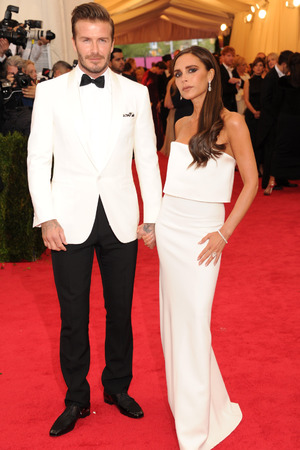 Met Ball 2014: David Beckham and Victoria Beckham