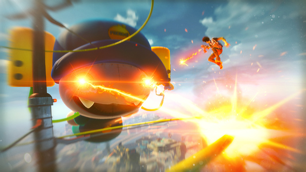 Sunset Overdrive is an Xbox One exclusive by Insomniac Games