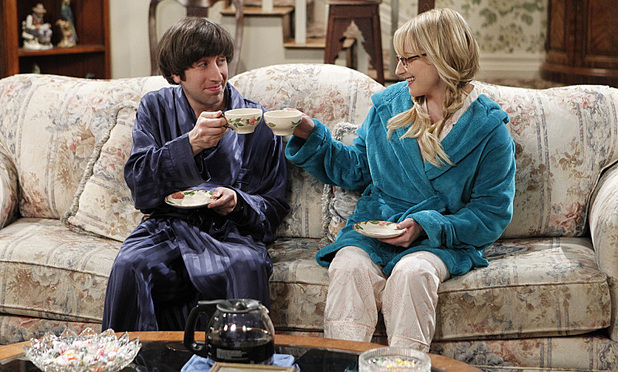 Simon Helberg & Melissa Rauch in The Big Bang Theory: 'The Gorilla Dissolution'