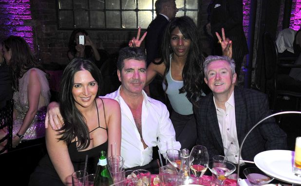 The London Cabaret Club Spring VIP Launch, London, Britain - 08 May 2014 Lauren Silverman, Simon Cowell, Sinitta and Louis Walsh 8 May 2014