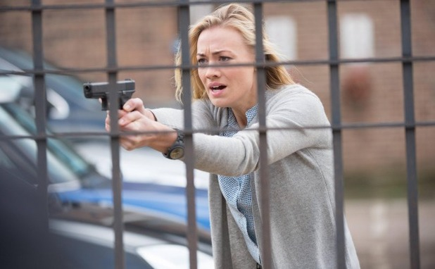 Yvonne Strahovski as Kate Morgan in 24: Live Another Day: 11:00AM - 12:00PM