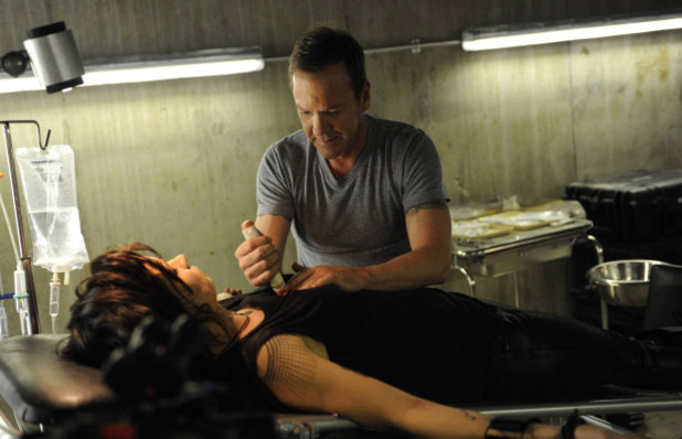 Kiefer Sutherland as Jack Bauer & Mary Lynn Rajskub as Chloe in 24: Live Another Day: 11:00AM - 12:00PM