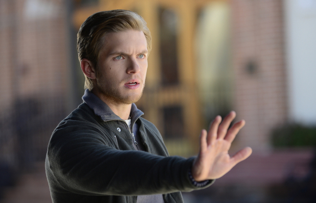 Chris Brochu as Luke in The Vampire Diaries S05E21: 'Promised Land'