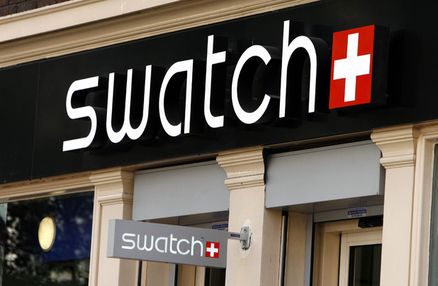 Swatch store front