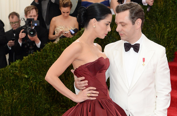NEW YORK, NY - MAY 05: Sarah Silverman (L) and Michael Sheen attend the 'Charles James: Beyond Fashion' Costume Institute Gala at the Metropolitan Museum of Art on May 5, 2014 in New York City. (Photo by Dimitrios Kambouris/Getty Images)