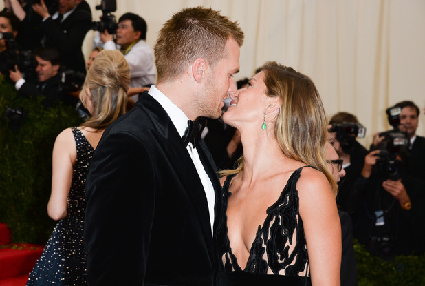 NEW YORK, NY - MAY 05: Tom Brady and Gisele Bundchen attend the 'Charles James: Beyond Fashion' Costume Institute Gala at the Metropolitan Museum of Art on May 5, 2014 in New York City. (Photo by George Pimentel/WireImage)