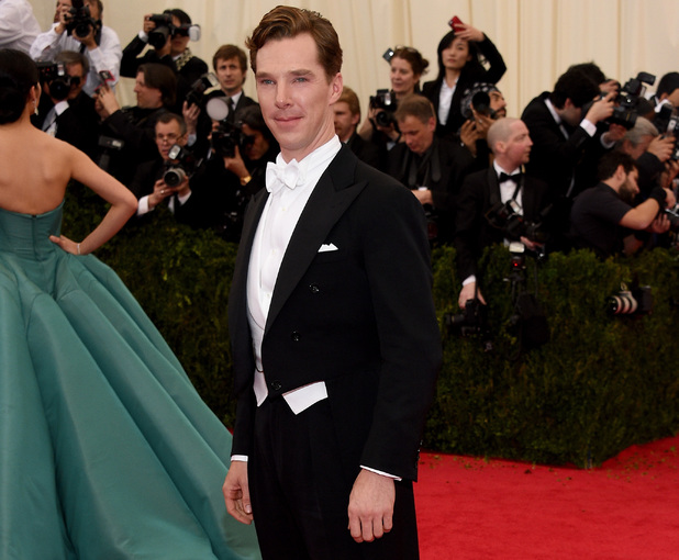 Benedict Cumberbatch at the 2014 Met Ball