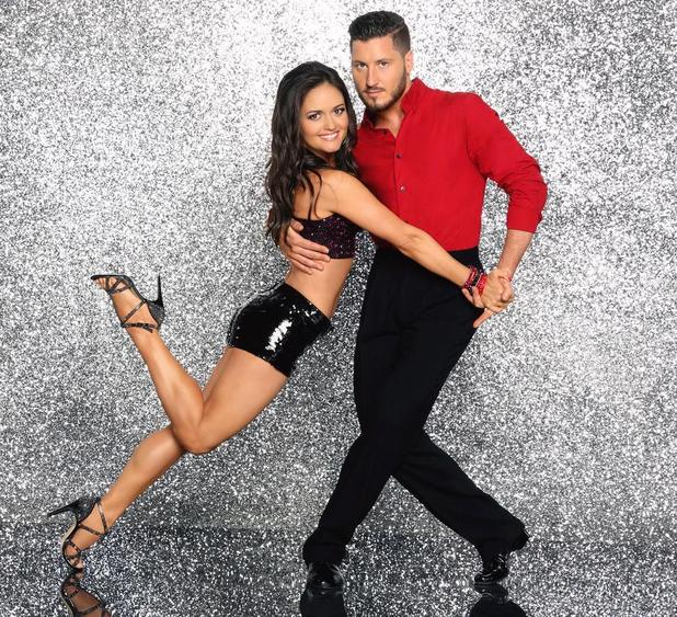 Dancing with the Stars: Danica McKellar and Val Chmerkovskiy
