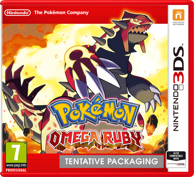 Pokemon Omega Ruby pack shot