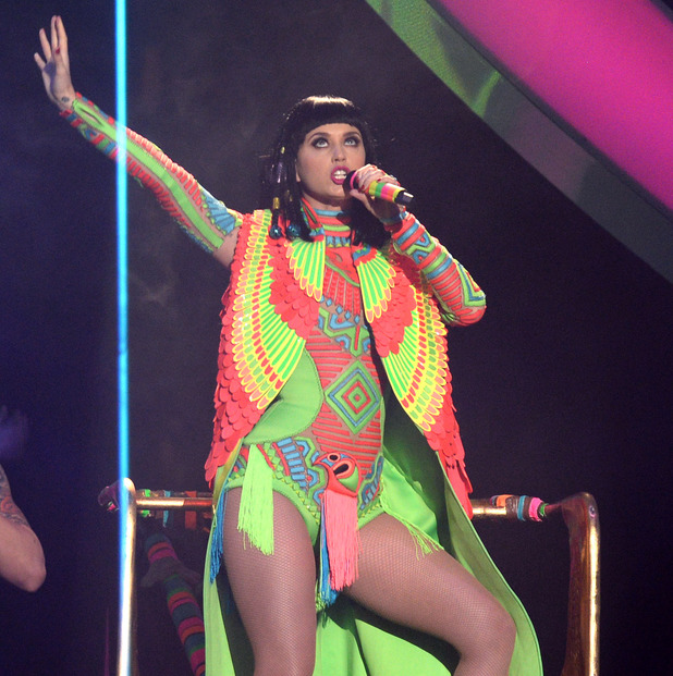 The Brit Awards, Show, O2 Arena, London, Britain - 19 Feb 2014 Katy Perry 19 Feb 2014