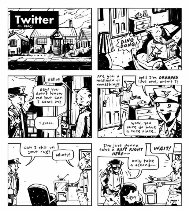 Gerard Way's Twitter