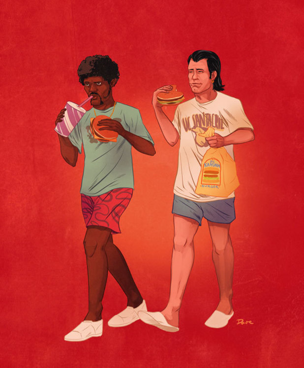 Dave Collinson's pop culture duos