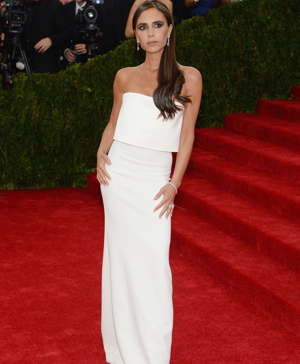 Victoria Beckham at the 2014 Met Ball