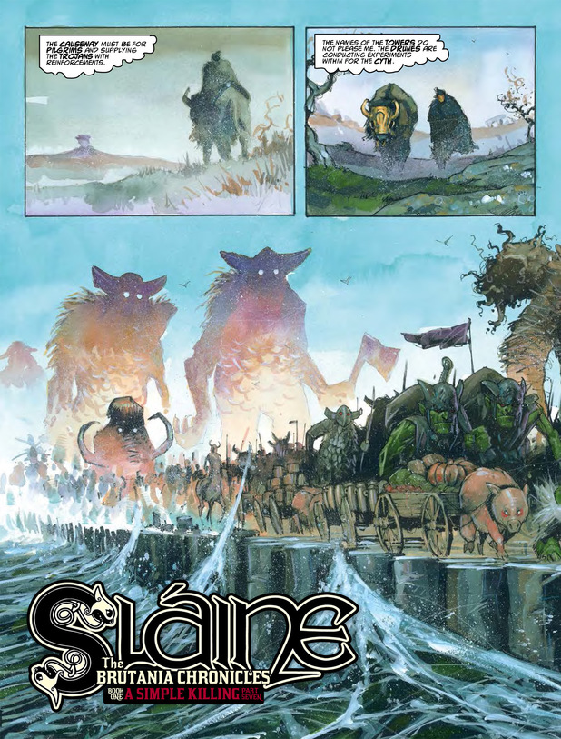 Sláine - The Brutania Chronicles