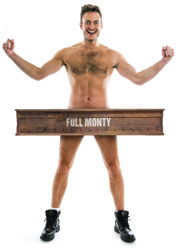Gary Lucy in The Full Monty promotional picture