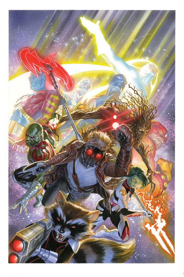 Alex Ross Guardians of the Galaxy #18 variant