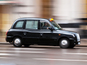 London black taxis protest against Uber