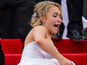 Hayden Panettiere falls over at Met Ball