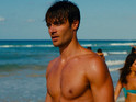 Say hi to Giulio Berruti, who's stripping off in the X Factor winner's first film.