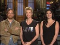 Cecily Strong shows off her famous banter with Charlize Theron and Black Keys.