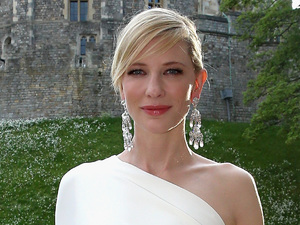 WINDSOR, ENGLAND - MAY 13: Cate Blanchett arrives for a dinner to celebrate the work of The Royal Marsden hosted by the Duke of Cambridge at Windsor Castle on May 13, 2014 in Windsor, England. (Photo by Chris Jackson/Getty Images)