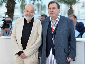 Cannes 2014: Timothy Spall and Mike Leigh 'Mr. Turner' photocall