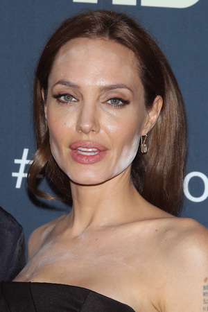 NEW YORK, NY - MAY 12: Actress Angelina Jolie attends 'The Normal Heart' New York Screening at Ziegfeld Theater on May 12, 2014 in New York City. (Photo by Jim Spellman/WireImage)
