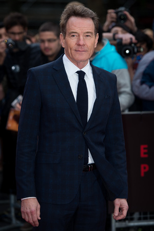 LONDON, ENGLAND - MAY 11: Bryan Cranston attends the European premiere of 'Godzilla' at the Odeon Leicester Square on May 11, 2014 in London, England. (Photo by Ian Gavan/Getty Images)