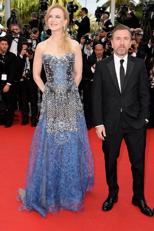 CANNES, FRANCE - MAY 14: Actors Nicole Kidman and Tim Roth attend the Opening ceremony and the 'Grace of Monaco' Premiere during the 67th Annual Cannes Film Festival on May 14, 2014 in Cannes, France. (Photo by Pascal Le Segretain/Getty Images)
