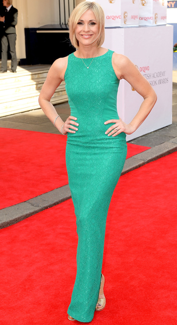 BAFTA Television awards 2014: Jenni Falconer