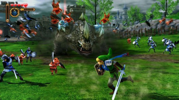 Screenshot from Tecmo Koei's Hyrule Warriors