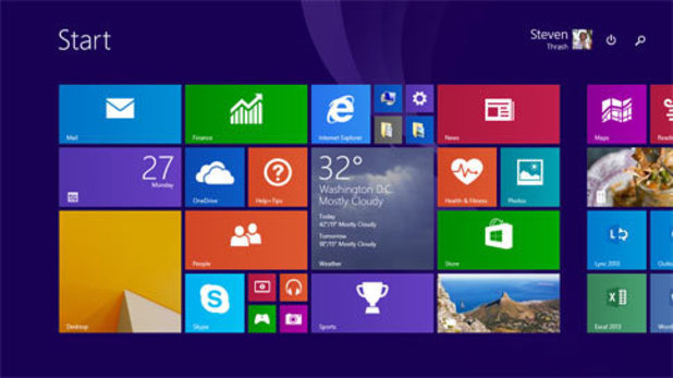 Windows 8.1 Update screenshot