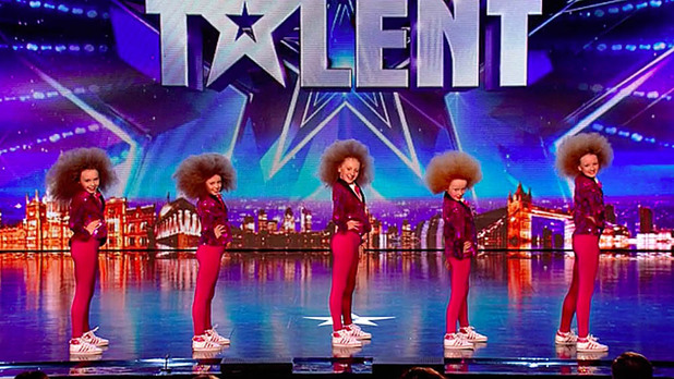 Mini Moves audition for Britain's Got Talent
