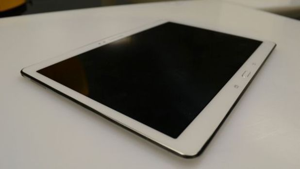 Leaked photograph of the Samsung Galaxy Tab S