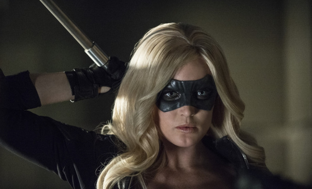 Caity Lotz as Canary in Arrow S02E23: 'Unthinkable'