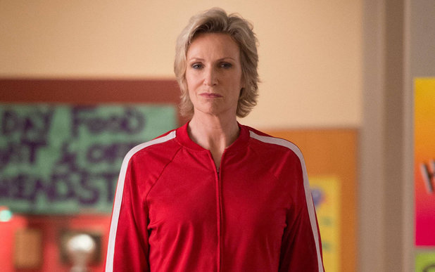Jane Lynch as Sue in Glee
