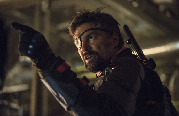 Manu Bennett as Slade Wilson in Arrow S02E23: 'Unthinkable'