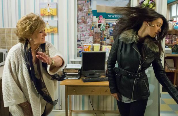 Tina's confession sends Rita into a rage