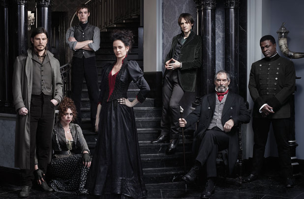 Josh Hartnett as Ethan Chandler, Billie Piper as Brona Croft, Harry Treadaway as Dr. Victor Frankenstein, Eva Green as Vanessa Ives, Reeve Carney as Dorian Gray, Timothy Dalton as Sir Malcolm and Danny Sapani as Sembene in Penny Dreadful