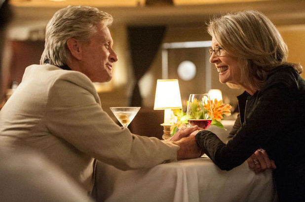 Michael Douglas & Diane Keaton in And So It Goes
