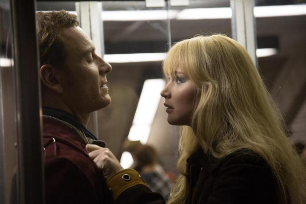 Michael Fassbender Jennifer Lawrence