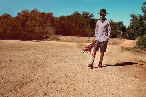 Pharrell Williams in Notion magazine