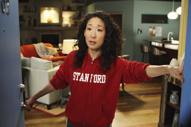 Sandra Oh as Cristina Yang in Grey's Anatomy