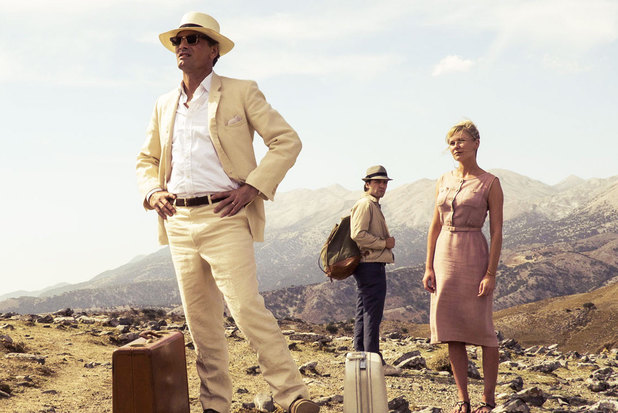 Viggo Mortensen, Kirsten Dunst and Oscar Isaac in The Two Faces of January