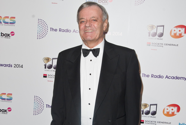 Tony Blackburn at The Radio Academy Awards 2014 at The Grosvenor House Hotel